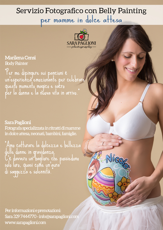 Belly Painting EASTER